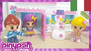 PINYPON LO CHALET DI MONTAGNA Ep 1, giochi per bambine, Un nuovo amore nasce sulla neve!