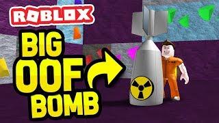 BIG OOF BOMB in PRISON ESCAPE SIMULATOR