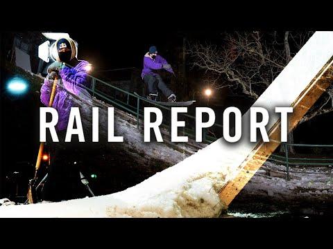 Back to School Street Snowboarding | Rail Report