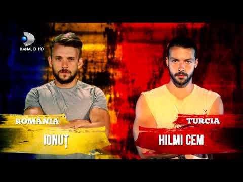 Exatlon Romania (24.02.2018) - Emotii mari in finalul meciului Romania -Turcia! Cine castiga?
