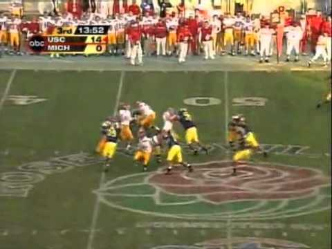 2003 USC football highlights vs. Michigan - national championship - January 1, 2004 Rose Bowl