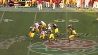 2003 USC football highlights vs. Michigan - national championship - January 1, 2004 Rose Bowl
