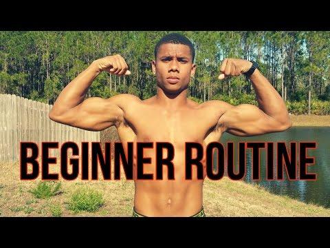 Beginner Home Calisthenics Full Body Routine
