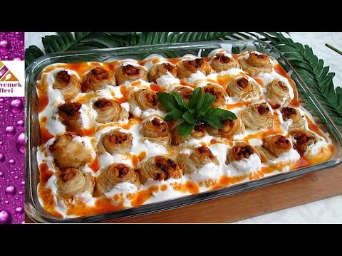 hiç böyle milföylü sultan kebabı yaptınız mı Pratik Yemek Tarifleri