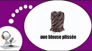 Французского видео урок = Одежду и аксессуары для женщин