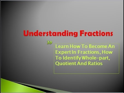 Cool Math For Kids What Is Fractions Understanding
