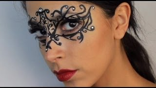 Halloween Makeup: $5 Masquerade Mask