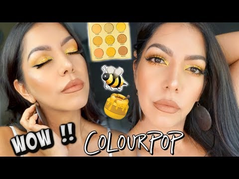 OH-HUH HONEY MAKEUP TUTORIAL⎪MAQUILLAJE TONOS AMARILLOS thumbnail
