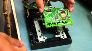 XBOX SLIM REPAIR REPLACE DVD DRIVE LITE-ON FLASH GUIDE BY KIBUB