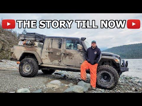 Rock Crawling Overland Jeep Gladiator Walk Around -