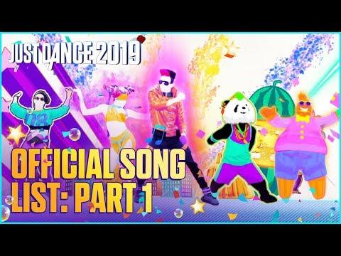 Just Dance 2019: Official Song List – Part 1 [US] - Простые вкусные домашние видео рецепты блюд
