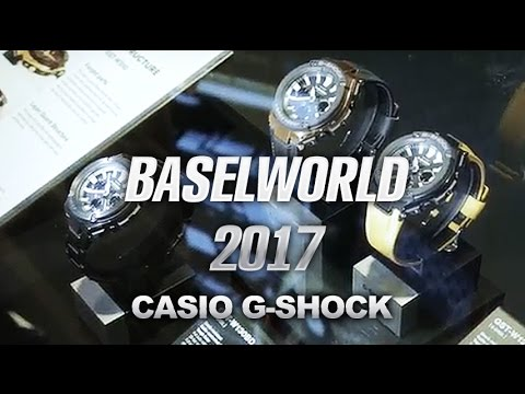 New Casio and Casio G-Shock Collection from Baselworld 2017