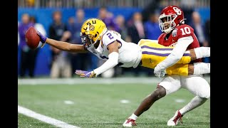 December 28, 2019 - CFP Semifinal Peach Bowl - #4 Oklahoma vs #1 LSU