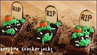 Graveyard Brownies for Halloween!!