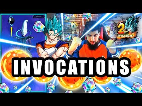 INVOCATIONS 2 ANS DRAGON BALL LEGENDS pour VEGETTO BLUE 6 étoiles