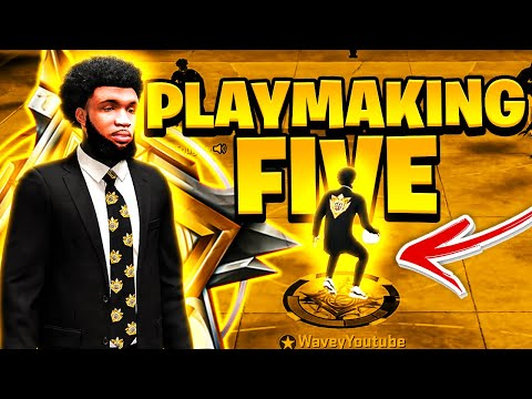 My LEGEND PLAYMAKING FIVE is the MOST FUN BUILD on nba 2k20..