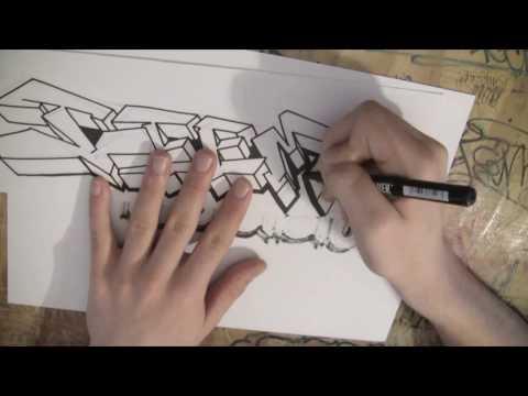 ⚫️#12 Graffiti Sketch ⚫️TeeM1