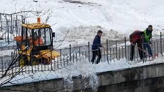 Čišćenje Grada, snimio Marko Čuljat Lika press Lička televizija Gospić LTVG