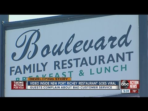 Video inside New Port Richey restaurant goes viral