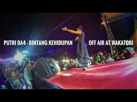 Putri DA4 - Menggoyang Wakatobi dengan lagu Bintang Kehidupan