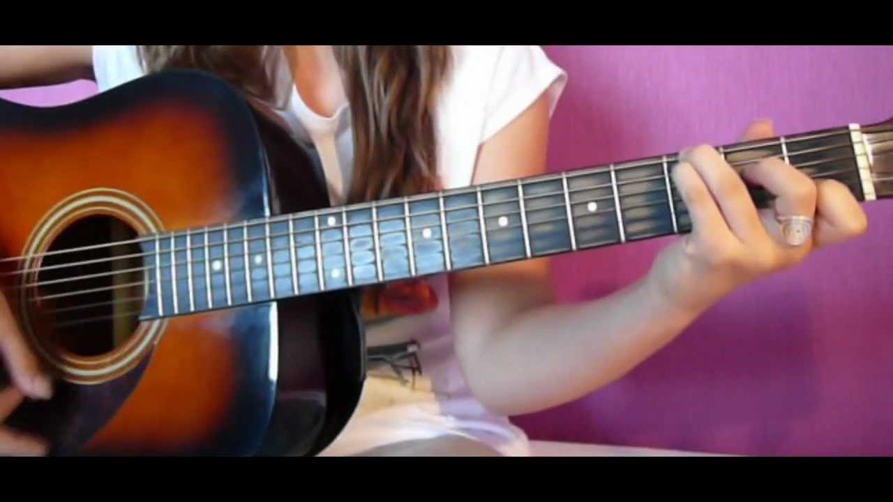 Wide Awake Guitar Cover By Katy Perry Youtube