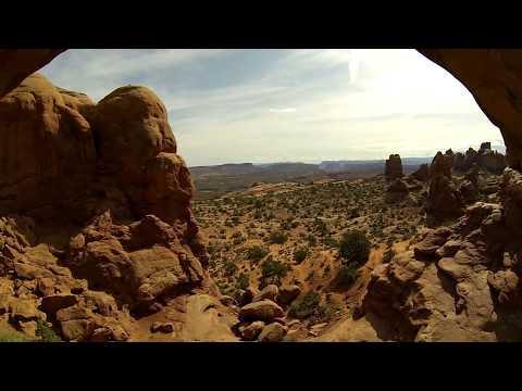UTAH National Park (Aerial DJI Phantom 2 Zenmuse H3-3D Gopro Hero3)