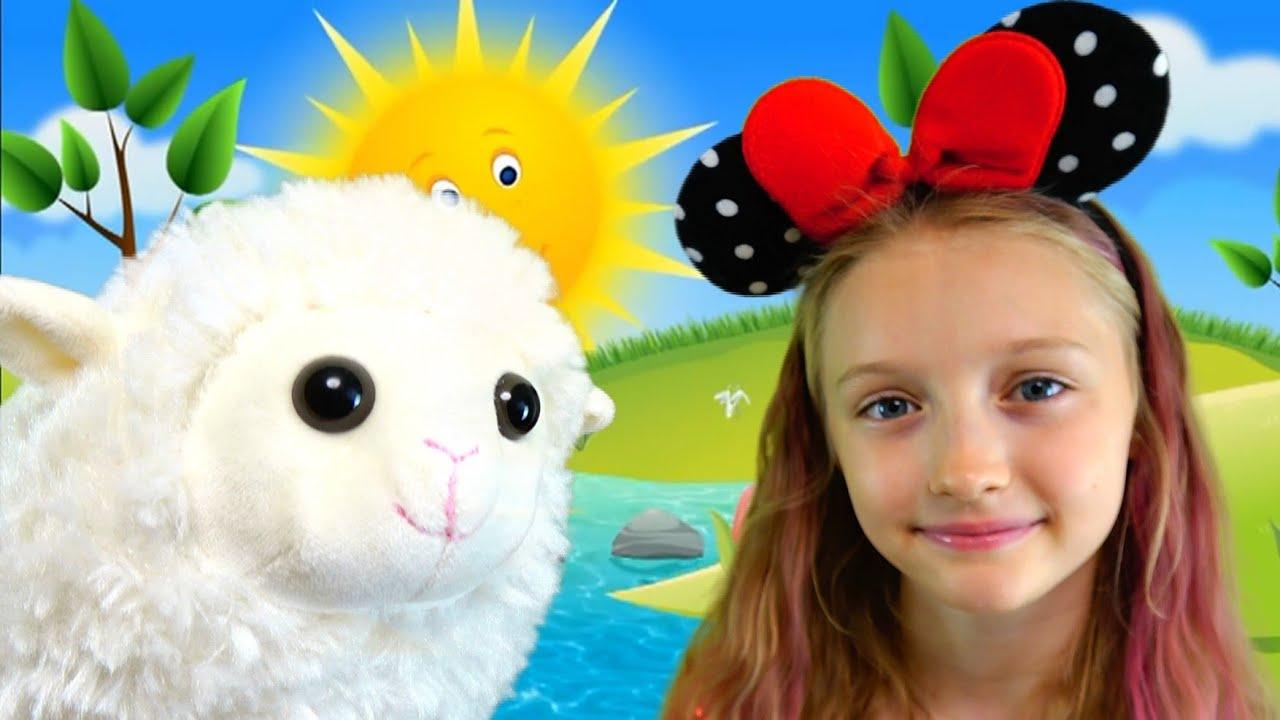 Полина и песенка для детей про овечку