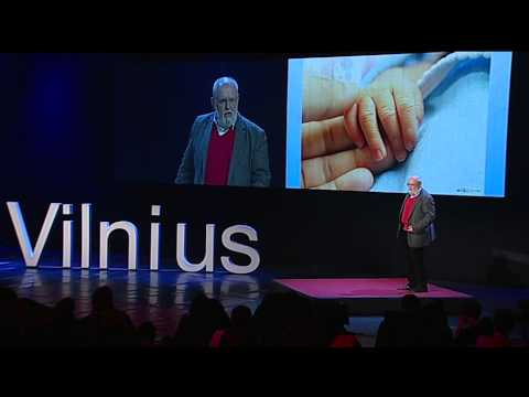 All we need is love...: Eugenijus Laurinaitis at TEDxVilnius