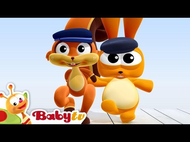 Greek Dancing Rabbit and Squirrel | BabyTV