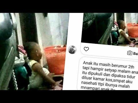 Diduga Dianiya dan Disuruh Tidur di Luar Kamar, Bocah 2 Tahun Menangis Panggil Ibu, Videonya Viral
