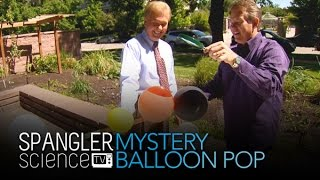 Mystery Balloon Pop - Cool Science Experiment