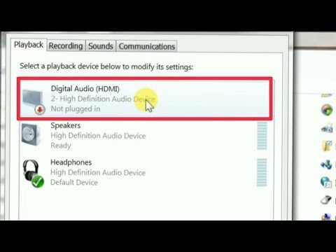How To Fix Digital Audio (HDMI) Problem Solve | In Computer | Pc