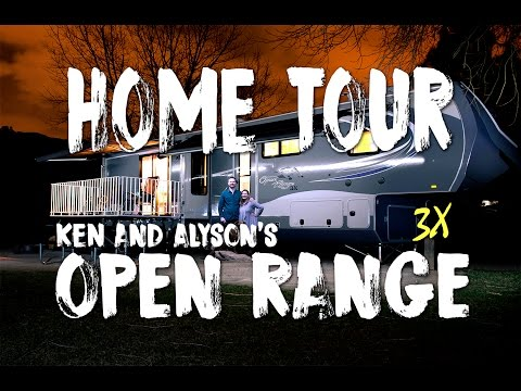 Touring our Friends' Feature-Filled Open Range 3x 40' Fifth Wheel