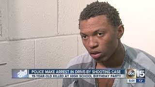 Arrest made in deadly drive-by shooting