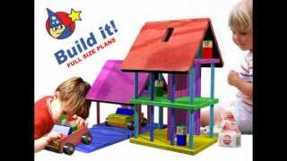 Wood Toy Plans - Easy To Make Doll House For Toddlers