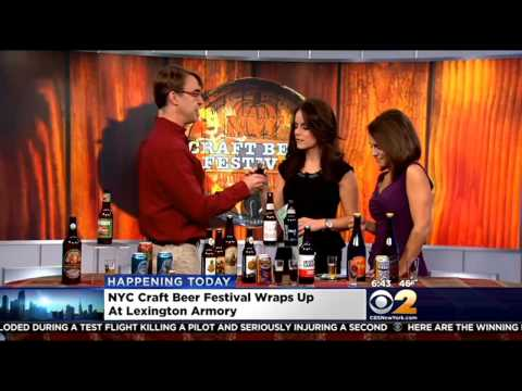 CBS New York - New York City Craft Beer Festival Highlights Fall Favorites & More