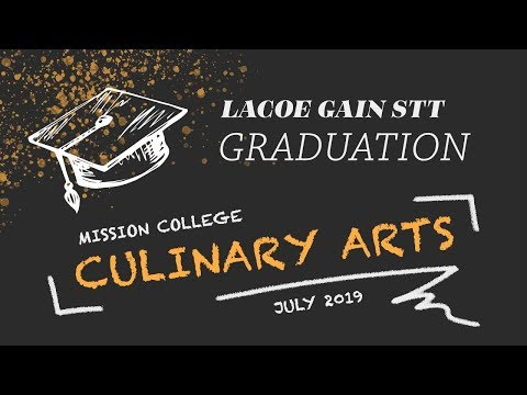 2019 Culinary Arts Program at LA Mission College