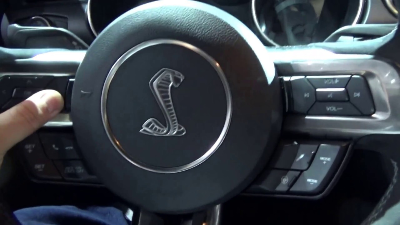 MUSTANG SHELBY COBRA ( INTERIOR ) GT350 2017. - YouTube
