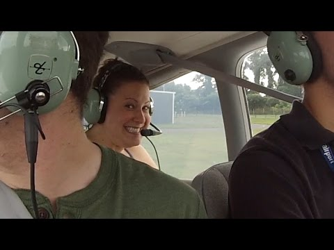 Piper Warrior Aborted First Flight - ATC Audio and Passenger Reactions