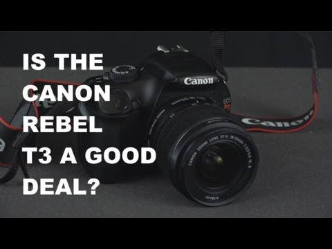 Canon EOS Rebel T3 Digital SLR Camera Review