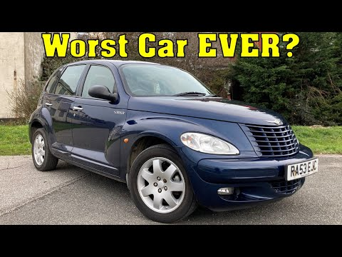 Is The Chrysler PT Cruiser The Worst Car EVER Made? (2003 2.0 Driven)