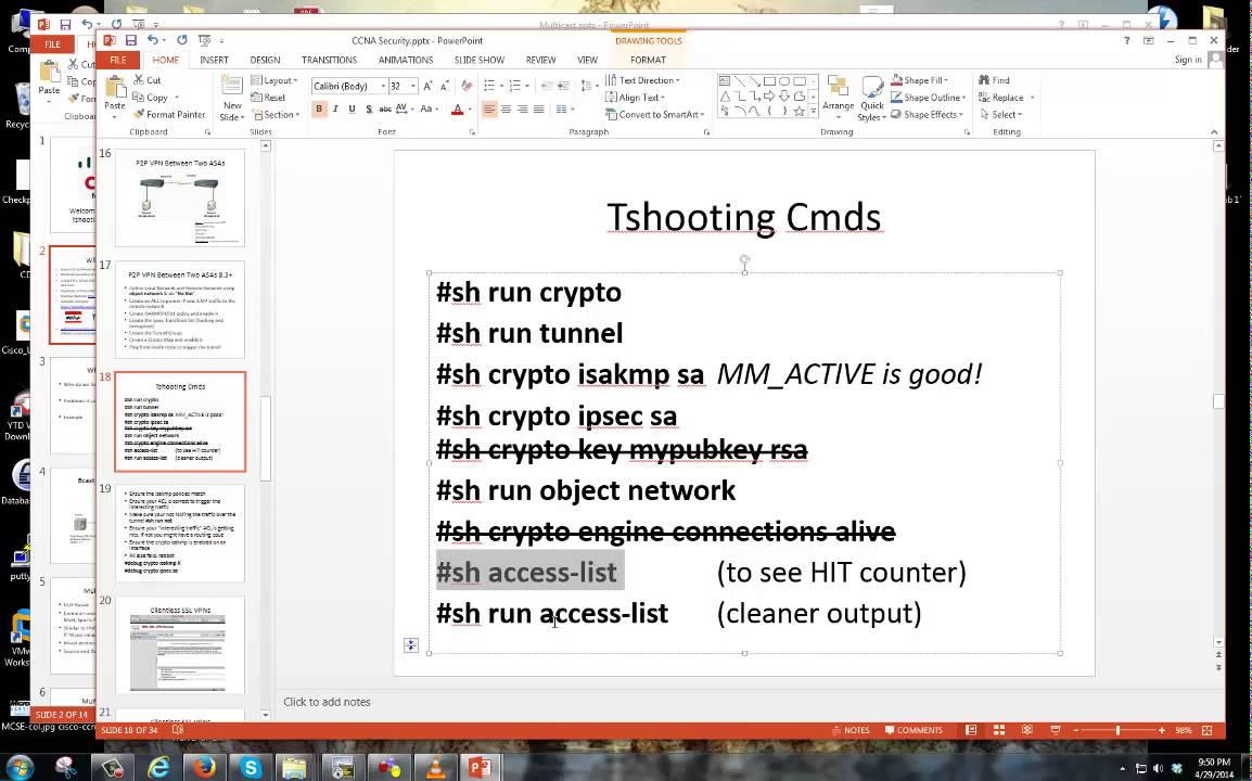 Cisco ASA Basic VPN Tunnel Troubleshooting