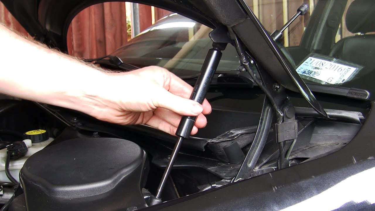 Simple How To Replace Gas Struts Lift Supports On Any