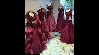 Latest Crop Top Lehenga Design New And Unique Idea 2019 Collection Youtube