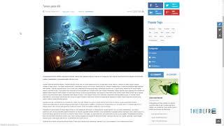 Tekmag - Technology News/Magazine Joomla Template        Fox Ronnie