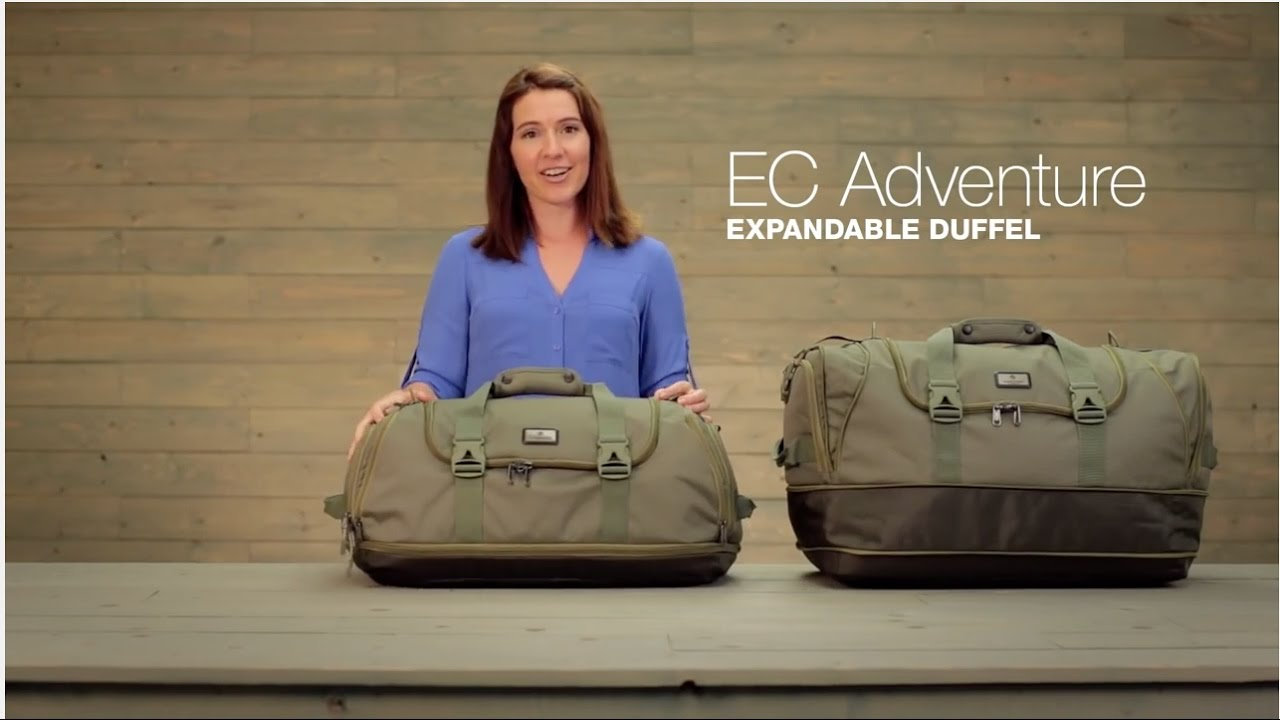 Ec Adventure Expandable Duffel