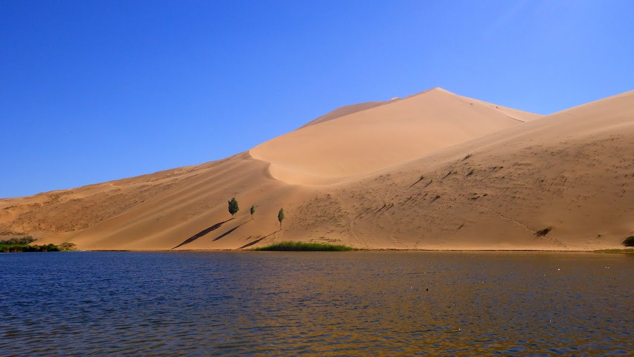 Why Are There Lakes In This Desert?