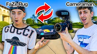 Switching Lives With My Cameraman for 24 Hours!