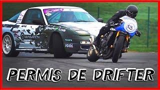 Permis MOTO / AUTO - Le stage EXTRÊME !!  (English Subtitles)