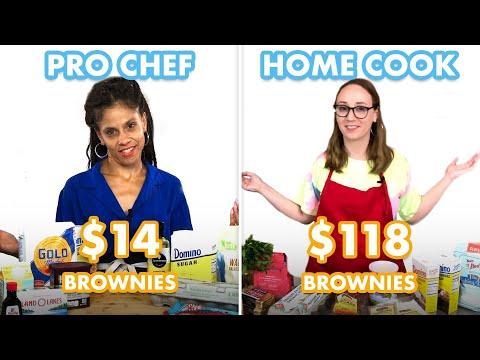 $118 vs $14 Brownies: Pro Chef & Home Cook Swap Ingredients | Epicurious